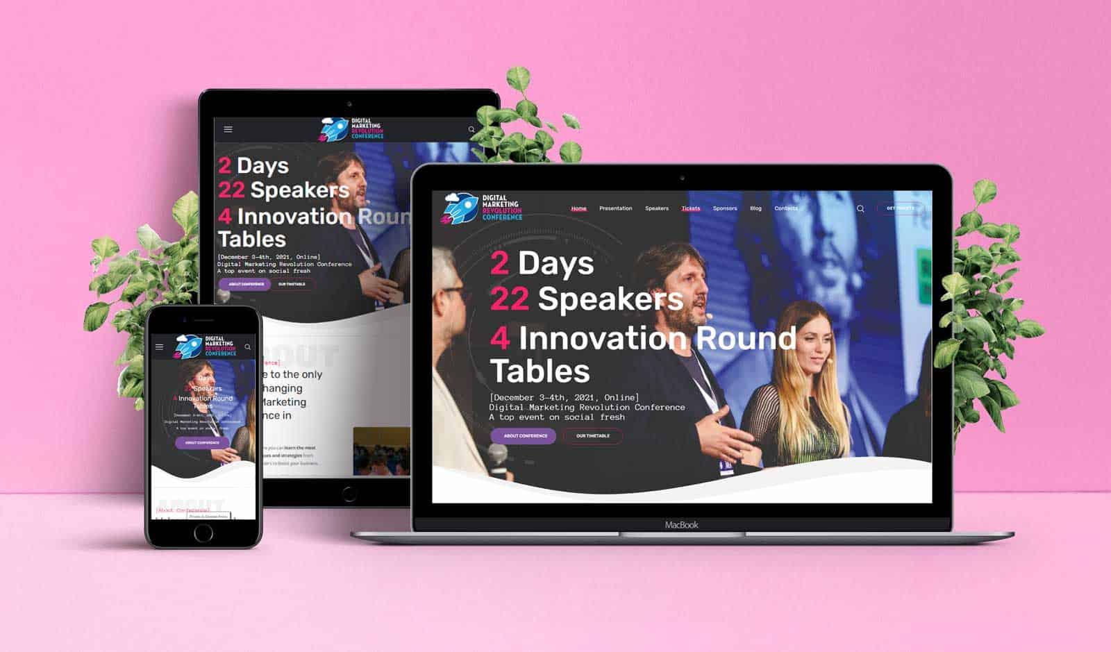 Digital Marketing Revolution Conference – Sviluppo Sito Web